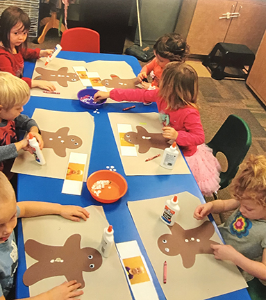 Lutheran Preschool Art Time