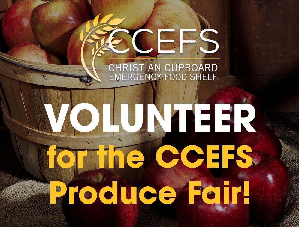 Volunteer for the CCEFS Produce Fair